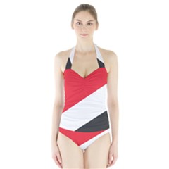 Flag Of Principality Of Sealand Halter Swimsuit
