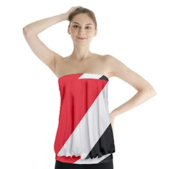 Flag Of Principality Of Sealand Strapless Top