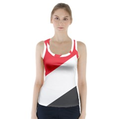 Flag Of Principality Of Sealand Racer Back Sports Top