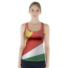 Flag Of Seychelles Racer Back Sports Top