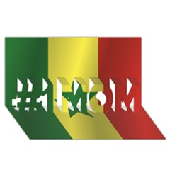 Flag Of Senegal #1 MOM 3D Greeting Cards (8x4)
