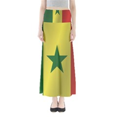 Flag Of Senegal Maxi Skirts