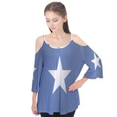 Flag Of Somalia Flutter Tees