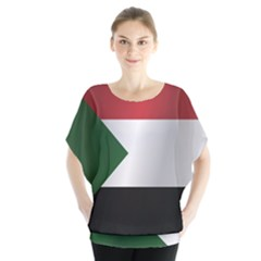Flag Of Sudan Blouse