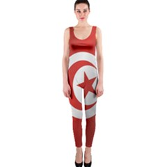 Flag Of Tunisia OnePiece Catsuit