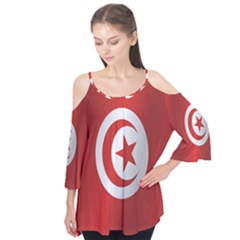 Flag Of Tunisia Flutter Tees