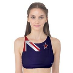 Flag Of New Zealand Tank Bikini Top