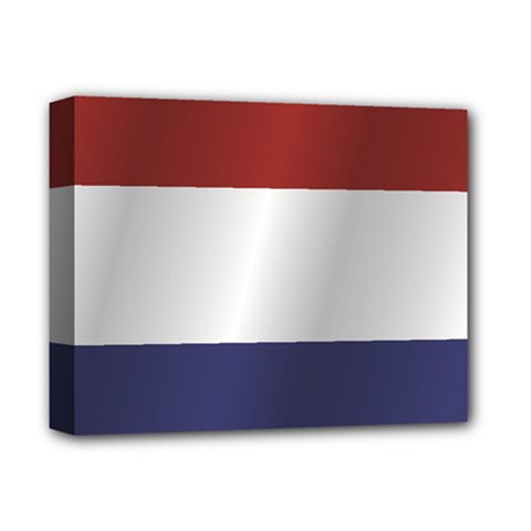 Flag Of Netherlands Deluxe Canvas 14  x 11