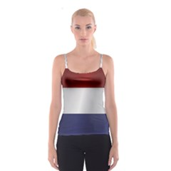 Flag Of Netherlands Spaghetti Strap Top