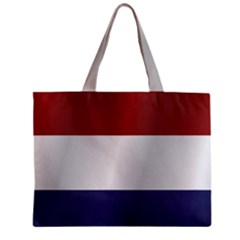 Flag Of Netherlands Zipper Mini Tote Bag