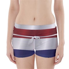 Flag Of Netherlands Boyleg Bikini Wrap Bottoms