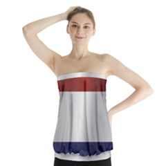 Flag Of Netherlands Strapless Top