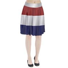 Flag Of Netherlands Pleated Skirt