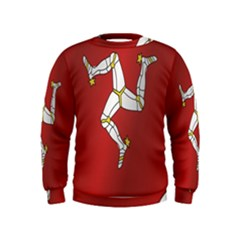Flag Of Isle Of Man Kids  Sweatshirt
