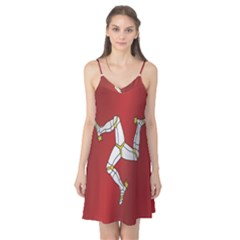 Flag Of Isle Of Man Camis Nightgown