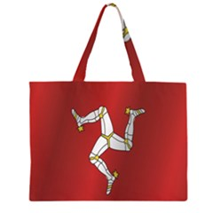 Flag Of Isle Of Man Large Tote Bag