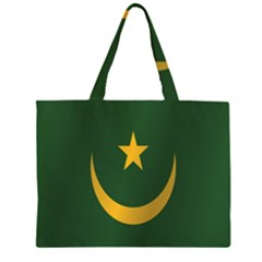 Flag Of Mauritania Large Tote Bag