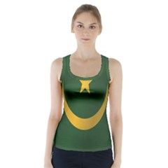 Flag Of Mauritania Racer Back Sports Top