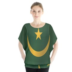 Flag Of Mauritania Blouse