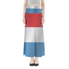 Flag Of Luxembourg Maxi Skirts
