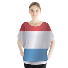 Flag Of Luxembourg Blouse