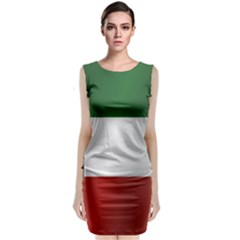 Flag Of Kuwait Classic Sleeveless Midi Dress