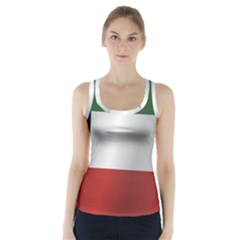 Flag Of Kuwait Racer Back Sports Top