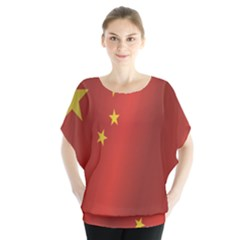 Flag Of China Blouse