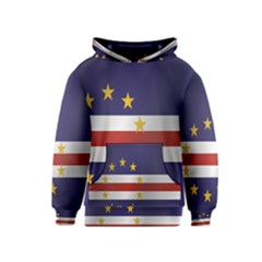 Flag Of Cape Verde Kids  Pullover Hoodie