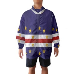 Flag Of Cape Verde Wind Breaker (Kids)