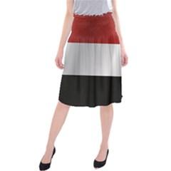Flag Of Yemen Midi Beach Skirt