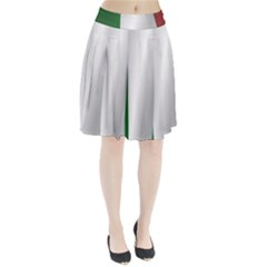 Flag Of Italy Pleated Skirt