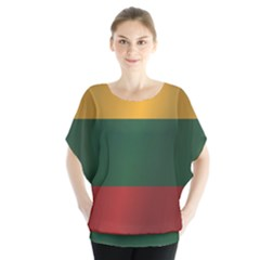 Flag Of Lithuania Blouse