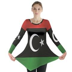 Flag Of Libya Long Sleeve Tunic