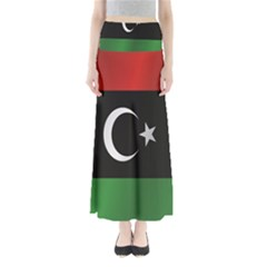 Flag Of Libya Maxi Skirts