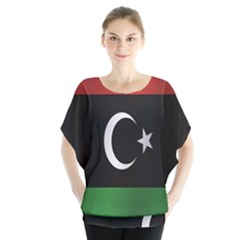 Flag Of Libya Blouse