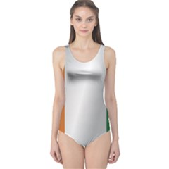 Flag Of Ivory Coast One Piece Swimsuit