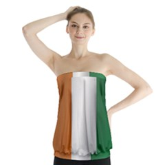 Flag Of Ivory Coast Strapless Top