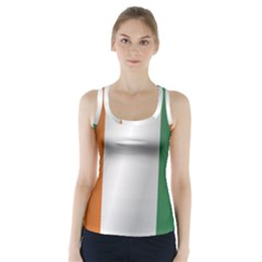 Flag Of Ivory Coast Racer Back Sports Top