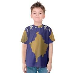 Flag Of Kosovo Kid s Cotton Tee