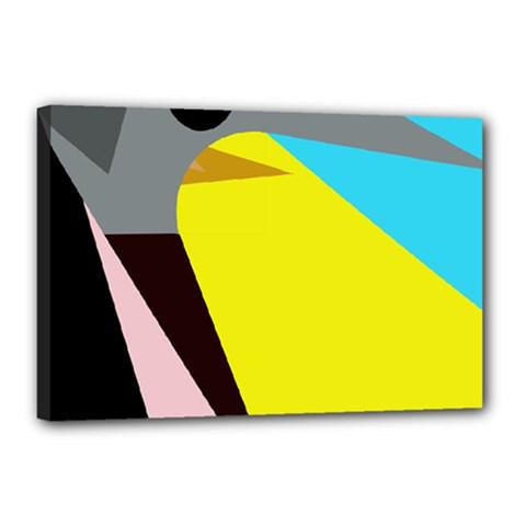 Angry bird Canvas 18  x 12
