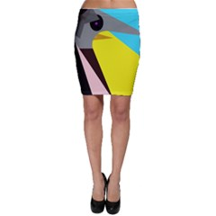 Angry bird Bodycon Skirt