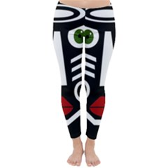 African mask Winter Leggings