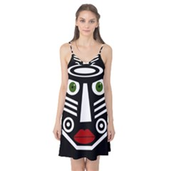 African mask Camis Nightgown