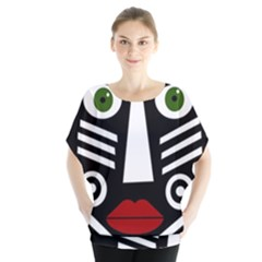 African mask Blouse