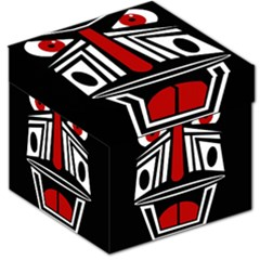 African red mask Storage Stool 12