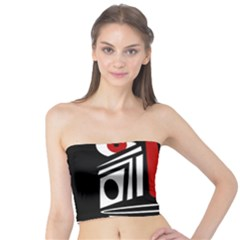 African red mask Tube Top