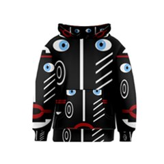 Decorative mask Kids  Pullover Hoodie