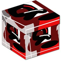 Crazy abstraction Storage Stool 12