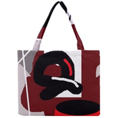 Crazy abstraction Mini Tote Bag